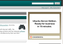 Ubuntu Server Advertising on slashdot